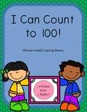 I Can Count to 100! Writing Numbers Practice