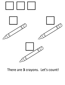 I Can Count to 3! Interactive Reader