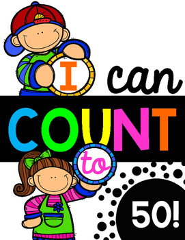 I Can Count to 50!