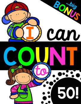 I Can Count to 50! Big Bonus!
