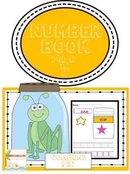 Count to Ten Number Book - Common Core Aligned