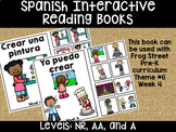 I Can Create Spanish Interactive Reading Books Can Be Used With Frog Street