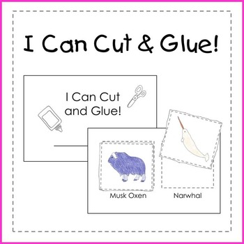 I Can Read, Cut and Glue! (5 Booklets)