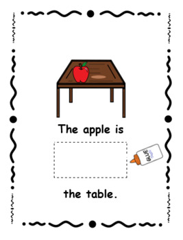 I Can Cut and Paste Prepositions!