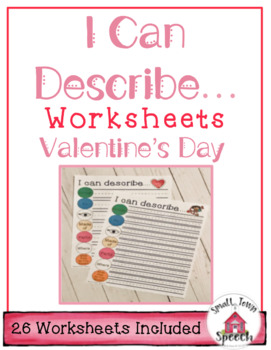 I Can Describe Valentine's Day Speech & Lang. {use alone/with programs like EET}