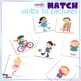 Action Words Interactive Vocabulary Book