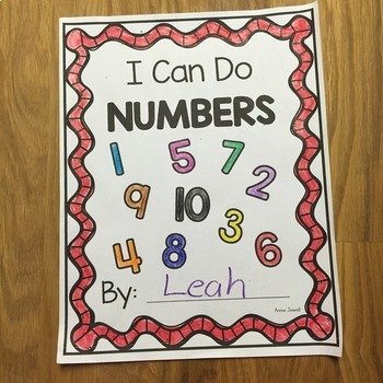 I Can Do BUNDLE- ME, Colors, Alphabet, Numbers, and Shapes- NO PREP