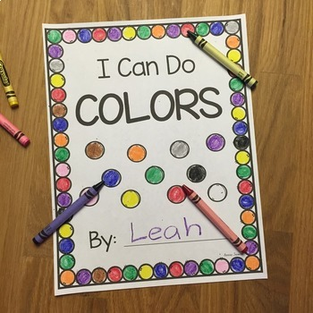 I Can Do BUNDLE- ME, Colors, Alphabet, Numbers, and Shapes