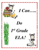 I Can Do First Grade ELA to the Common Core!