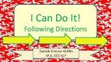 I Can Do It! Following Directions