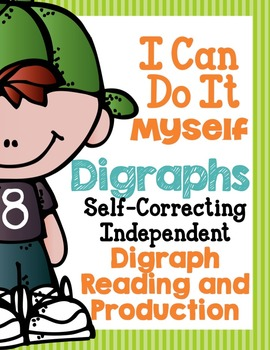I Can Do It Myself Digraphs-Differentiated and Aligned