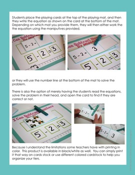 I Can Do It Myself Subtraction-Self-Correcting and Differentiated