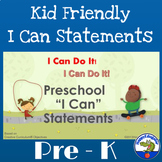 "I Can Do It! Preschool ""I Can"" Statements"