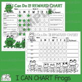 I Can Do It Reward Chart FROGS THEME (Karen's Kids Printables)