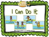 I Can Do It – a mini book, features verbs/action words, rhyming