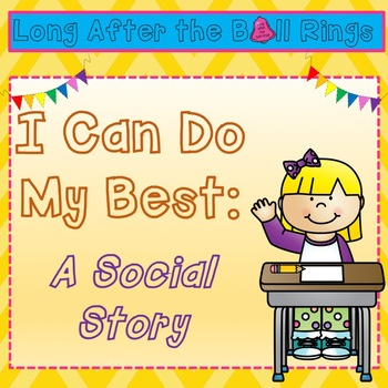 I Can Do My Best: A Social Story