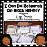 Black History Month Activities: Research Lap Book