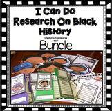 I Can Do Research On Black History Lap Book Bundle
