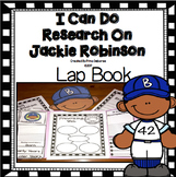 Black History Month Activities: Jackie Robinson Research Lap Book