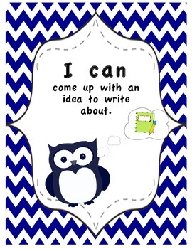 """I Can Do This"" Writing Posters"