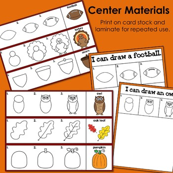Fall Centers (Drawing and Writing)