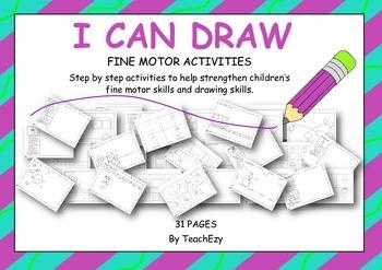 Fine Motor I Can Draw Activity