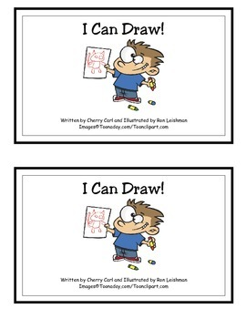I Can Draw! Guided Reader (-aw Word Family)