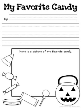 Halloween - How-To Drawing and Writing Center