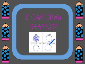 I Can Draw Shapes, Fine Motor