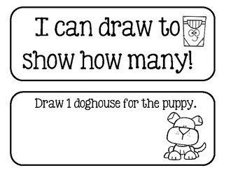 I Can Draw To Show How Many!