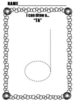 """I Can Draw a """"TA"""""""