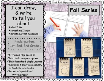 I Can Draw and Write to Represent Ideas: Fall Series