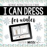Dressing for Winter Click It Book {No Print, Interactive}