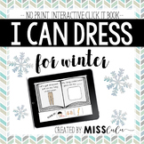 Dressing for Winter Click It Book {No Print, Interactive}
