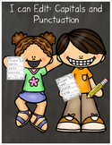 I Can Edit! Capitals and Punctuation