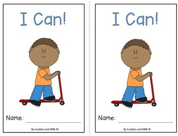 I Can! -- Emergent Reader