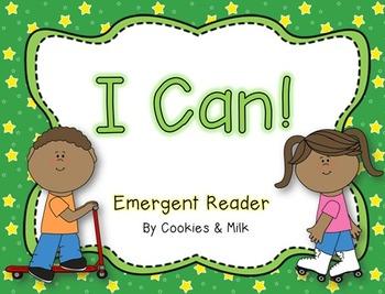 I Can! -- Emergent Reader