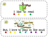 I Can Emergent Reader: Ted the Worm