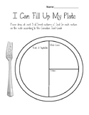 I Can Fill Up My Plate Canadian Food Guide