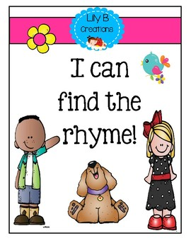 I Can Find The Rhyme