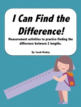 I Can Find the Difference!-Measurement Activities
