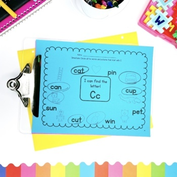 Letter Sounds Printables