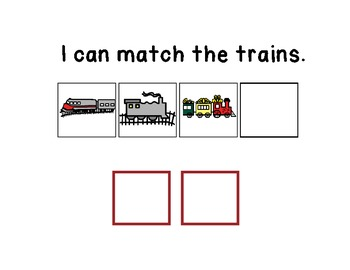 I Can Find the Match - Adapted Book for Children With Special Needs