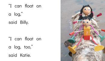 I Can Float: An Emergent Guided Reading Level 2-3 Billy Beginning Reader