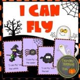 Halloween emergent reader, big book, student booklets, wor