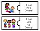 I Can Follow Classroom Rules Puzzles