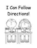 I Can Follow Directions!