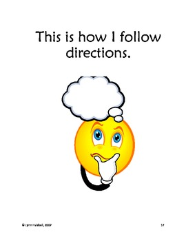 I Can Follow Directions