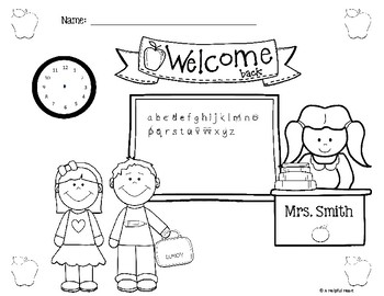 I Can Follow Directions! A Back to School-themed Listening Activity