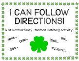 I Can Follow Directions! A St. Patrick's Day-themed Listen